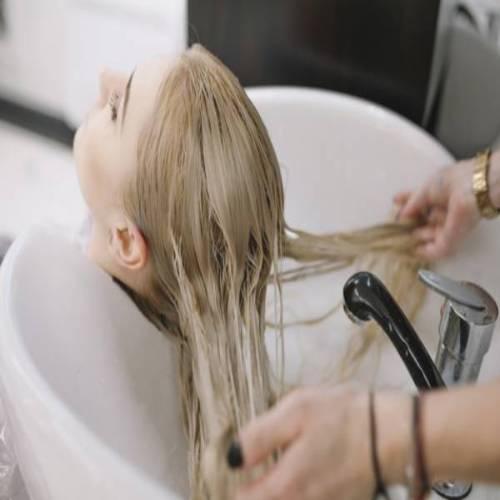 مراقبت از موهای دکلره شده